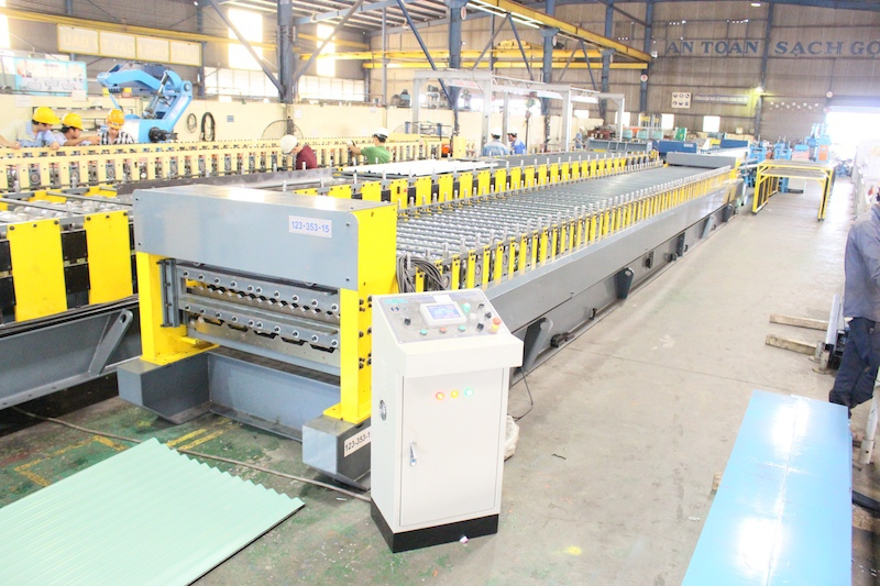 Double Layer Roll Forming Machine Corrugated Roofing & 6 Rib Roofing
