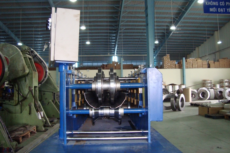 Lamp Reflector Roll Forming Machine